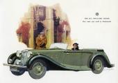 En tjusig framställan av 1937 års M.G. SA Two-Litre Tourer.