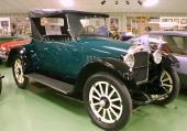 1922 Nash Model 42 Roadster med sidventilssexa på 55 hk vid 2400 v/min.