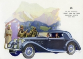 Riktigt ombonad och definitivt lyxig är denna 1937 M.G. SA Two-Litre Drophead Coupé från Tickford.