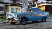 1956 Oldsmobile i bra originalskick. Verkar välbevarad istället för renoverad.
