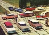 Hela modellprogrammet av 1960 års utbud av Metropolitan och Rambler.