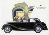 Visst vilar det ganska mycket Jaguar över denna imposanta M.G. SA Two-Litre Saloon, tillverkad av M.G. själva.