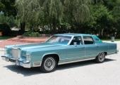 Sista årsmodellen av premium fullsize Lincoln Town Car var 1979.