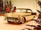 Med 1956 års modell gjordes fronten mer amerikansk. Grillen breddades och gav ett mer aggressivt intryck.