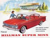 Humber Sceptre gavs samma grundkarosseri som Hillman Super Minx, men var naturligtvis avsevärt lyxigare.
