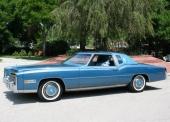 1978 Cadillac Eldorado Biarritz! Sista årsmodellen av premium fullsize Eldorado.