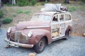 Nej men titta! En äkta 1941 Chevrolet Woodie Station Wagon! Säljs av privatperson i Seattle med svindyr sjöfrakt och räkna med en renoveringskostnad i Sverige som är minst lika stor, som importpriset på SEK 460.000.