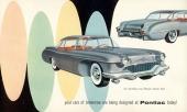 Broschyren på 1955 Pontiac Strato Star med minst sagt okonventionell design!