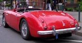 Även tyska bilentusiaster uppskattar Austin-Healey.