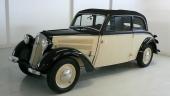 1939 års DKW F8 Meisterklasse Convertible Sedan (Cabrio-Coach).
