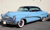 Ännu en 1953 Buick Super Riviera Hardtop, tillverkad i 91.298 exemplar.