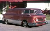 För ovanlighetens skull gjordes även en avancerad GMC van! Modellnamnet var L´Universelle.
