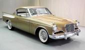 1957 Studebaker Golden Hawk i sin mest naturliga färgsättning!