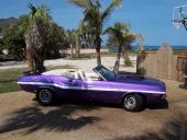 1970 Dodge Challenger Convertible har en slank och elegant silhuett.