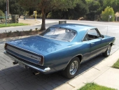 1967 Plymouth Barracuda Notchback, eller Hardtop Coupe som den också kallades.