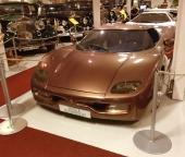En prototyp av den svensktillverkade Koenigsegg kan förmodligen inget annat museum visa upp! En unik bil i alla avseenden!