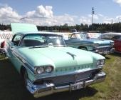 1958 Oldsmobile Ninety-Eight Holiday Hardtop Sedan, tillverkad i 27.603 exemplar. Den mest exklusiva modellserien och den näst dyraste versionen detta år.