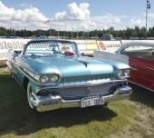 En verkligt sällsynt vagn är denna 1958 Oldsmobile Super 88 Convertible som tillverkades i bara 3.799 exemplar!