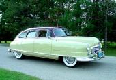 1950 Nash Statesman Super med trevlig 2-färgslackering.