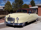 1950 Nash Statesman Custom 4dr Sedan.