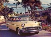 Härliga 1957 Bel Air Nomad. Detta exemplar var vid fotograferingen helt fabriksny.
