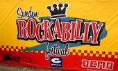 Sweden Rockabilly Festival skyltade tydligt och snyggt.