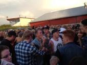 Och visst var publiken enorm och upprymd över musiken!
