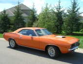 1970 Barracuda med 440 6-Pack.